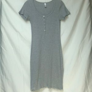 American Apparel T-shirt dress